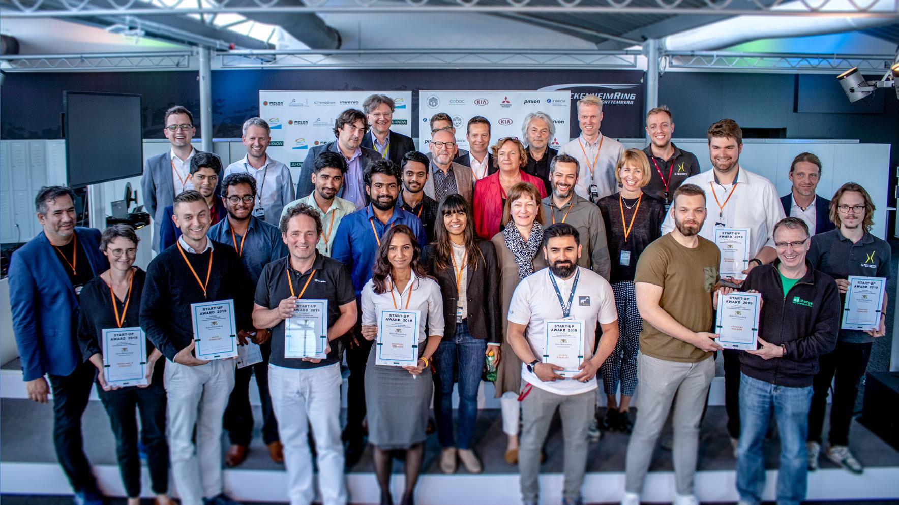 Die Gewinner des Start-up Awards 2019